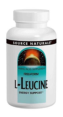 Source Naturals - L-Leucine 500 mg - 240 Capsules
