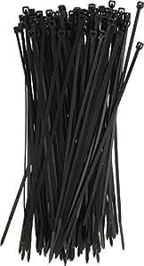 100 colliers nylon 2.5 x 200 mm noir