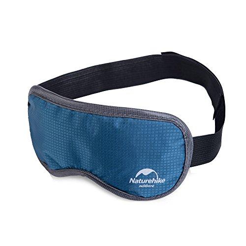 Naturehike Augenmaske, leicht, Schlafmaske, Augenklappe, Augenbinde mit verstellbarem Gurt, atmungsaktiv mit Lavendel, blau