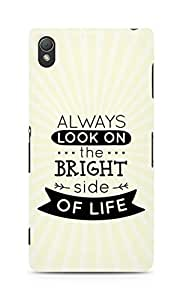 Amez Always look on the Bright Side of Life Back Cover For Sony Xperia Z3