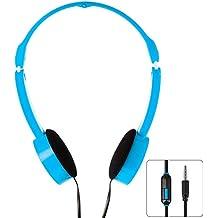 XCSOURCE 3,5 millimetri universale pieghevole Scalable Line Control MP3 di musica Cuffie Bambini Childs Over-Ear (Stile Pieghevole Delle Cuffie)