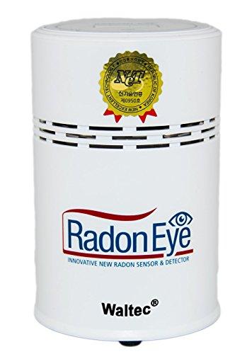 waltec® | Juego de radoneye | + USB Cable + +, instrucciones en alemán Radon Medición Consejos + handyapp + Certificado | Radon Eye | RD200Radon Medidor-El dispositivo profesional para su casa.