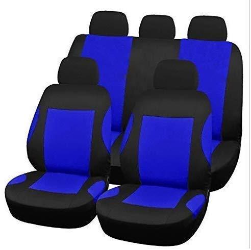 H.aetn Autositzbezüge Universal Full Easy An - Aus Schnelltrocknender Mikrofaser - Sitzschutz mit Airbag Kompatibel für die meisten Geländewagen