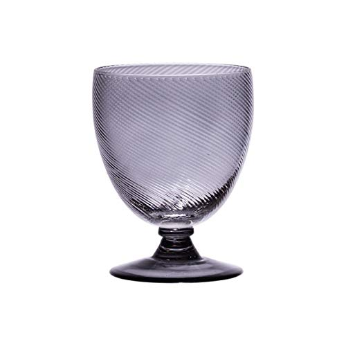 Table Passion - Verre à pied luberon gris 28.5 cl (lot de 6)