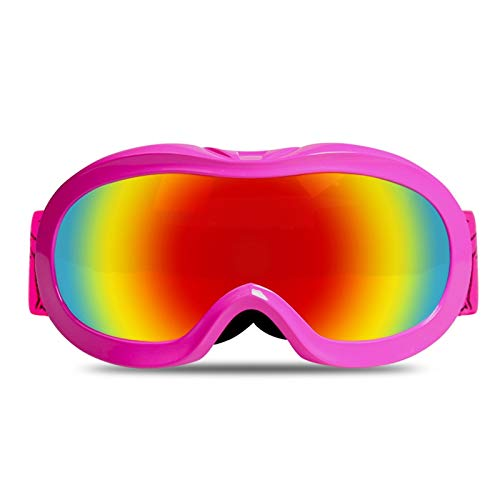 Radbrille Jugend Skibrille Für Kinder Im Freien Mit Anti Fog Skibrille Aus Kokos Pink Kinder