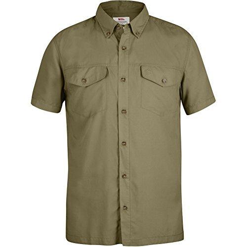 Fjällräven Herren Abisko Vent Shirt Ss Kurzarmhemd Cork