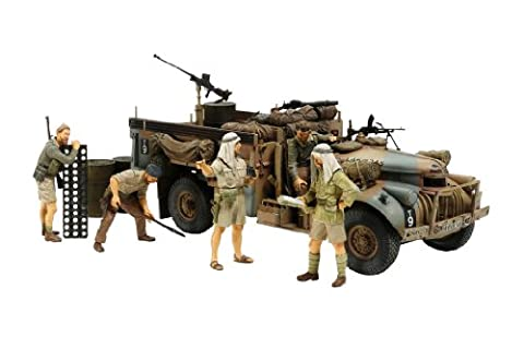 British LRDG Command Car North Africa - 1:35 Scale - Model Kit