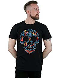 Disney Men's Coco Skull Pattern T-Shirt