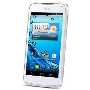 Acer Liquid Gallant Duo Pure White 4GB White - smartphones (Dual SIM, Android, EDGE, GPRS, GSM, HSDPA, HSUPA, bar, 3G, CSD)