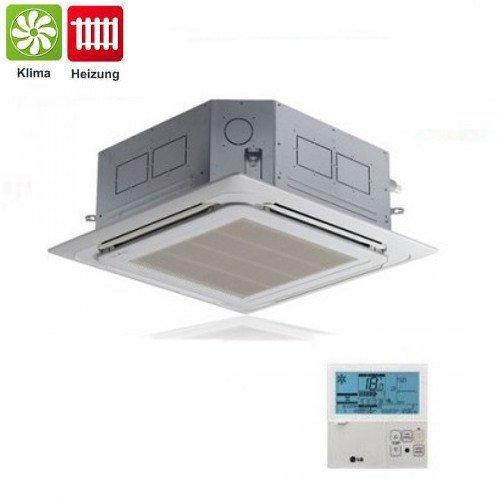 Climatizzatore / Condizionatore LG 12000 Btu Uu12W Ct12 Monosplit Inverter Cassetta 4 Vie Con Griglia