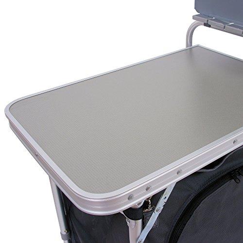 CAMPFEUER Campingschrank, Aluminium Campingküche