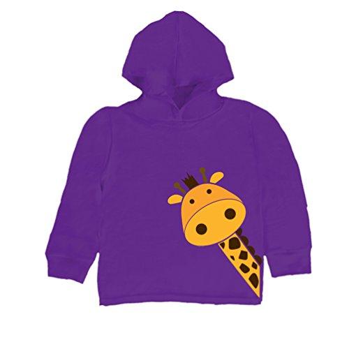 Inda-Bayi Baby-Toddler-Kids Cotton Hoodie T Shirt Giraffe