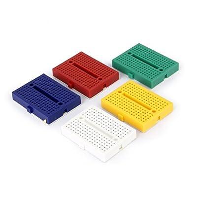 Nalmatoionme 5Pcs SYB-170 Colorful Kitchen Small Mini Bread Board Tools Acessories