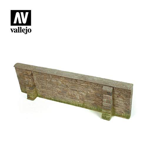 Vallejo SC109 1/35 - Muro de la Ciudad de Normandia (24 x 7 cm)