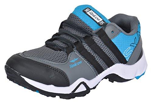 SHOES T20 Men's Blue Outdoor Multisport Training Shoes - 8 UK