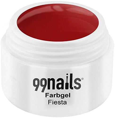 99nails Farbgel - Fiesta, 1er Pack (1 x 5 ml) Gelee Fiesta