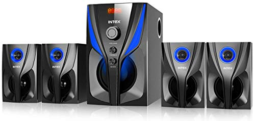 Intex Jazz 4.1 85 W Bluetooth Home Audio Speaker (Black, 4.1 Channel)
