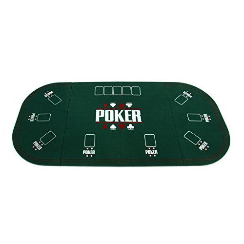Nexos Faltbare Tischauflage Pokertisch Casino Pokerauflage