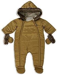 The Essential One - Bebé Pelaje Sintética Especial Snowsuit / Traje de Esquí - Oro - EO254