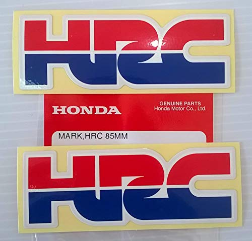 2 x Honda - HRC Honda Carreras Corporation PEGATINA