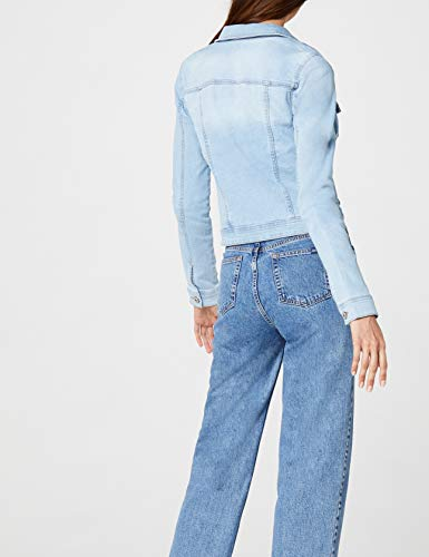 ONLY Damen Jeansjacke Onlnew WESTA Detail Jacket, Blau (Light Blue Denim) - 6