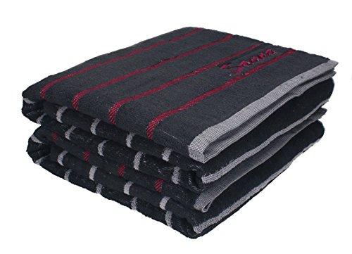 Betz 2 Stück Saunatücher XXL Badetuch Duschtuch Handtücher Set ICELAND 100% Baumwolle Saunahandtuch Größe 80x200 cm Farbe grau