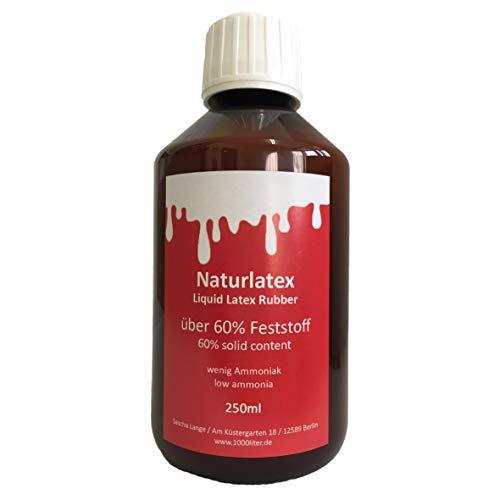 Flüssiglatex 250 ml Latexmilch, naturfarben, Naturgummi flüssig, Latex, Gummimilch, Sockenstopp, liquid latex
