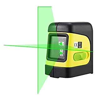 Firecore F112G Green Cross Line Laser Level with Magnetic Bracket