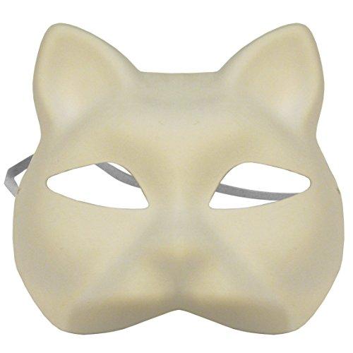 omygod-tinta-unita-bianco-gatto-maschera-in-cartapesta-da-decorare-yourself