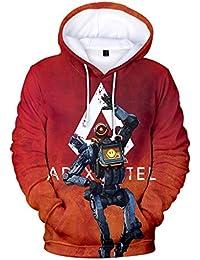 Mchooded Felpe Classiche Unisex Apex Legends Felpa Game Coat Chic Tuta per  Uomo E Ragazzo T e793e92fc1e5