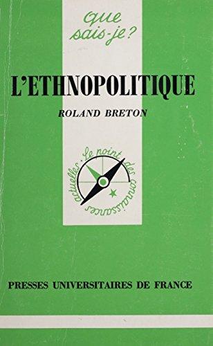 L'Ethnopolitique