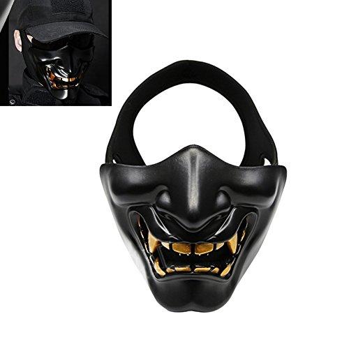 lzn Horrible Scary Halbmaske Unteren Gesicht Schutz Cosplay Masken Für Maskerade Kostüm Party Film Requisiten