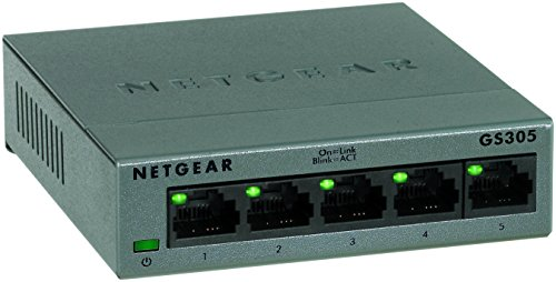 NETGEAR GS305-100UKS 5-Port Giga...