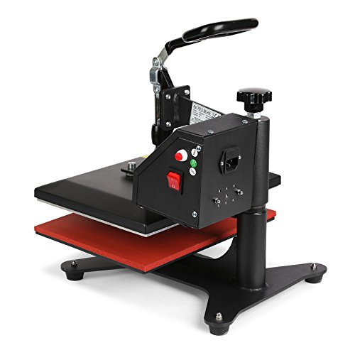 Lartuer Transferpresse Textilpresse T Shirtpresse Heat Press Machine 24X30cm mit Elektronische Zeitregelung und Temperaturüberwachung (24X30cm) - 5