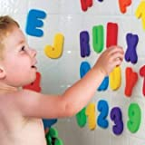 36pcs Children Bath Tub Foam Letters Numbers Educational Baby Early Learn Water Shower Toy Sets