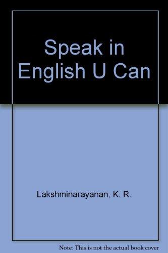 Speak in English U Can