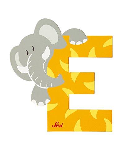 Trudi 81605 - Buchstabe Elefant E farbig sortiert