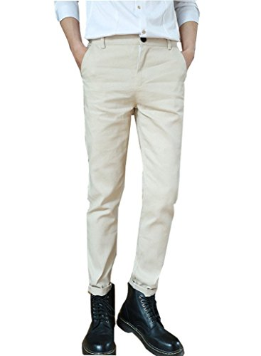 Minetom Slim Fit, Pantaloni da Uomo, Gioventù e Popolare (