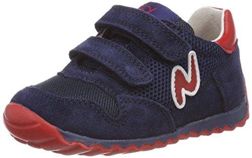 Naturino Jungen Sammy. Sneaker, Blau (Navy-Rosso), 22 EU
