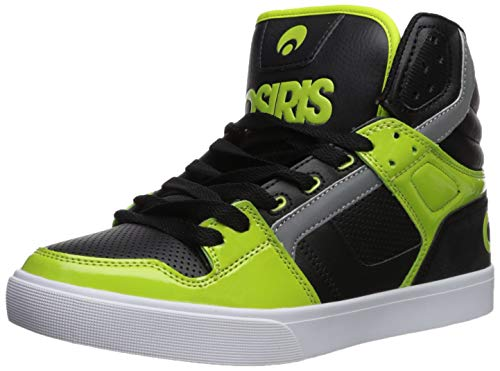 Osiris Herren Clone Skate-Schuh, (Limonengrün/Schwarz/Weiß), 45 EU - Schwarz Schuhe Skate Weiß