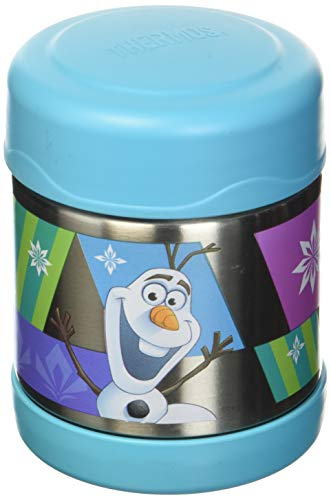 Thermos Echte Gefrorene FUNtainer vakuumisolierte Edelstahl-Food Jar - (10oz) Blau Funtainer 10 Oz Food Jar
