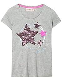b5ff5c26c Desigual TS Nunavut - Camiseta con Lentejuelas Reversibles - Bandana DE  Regalo
