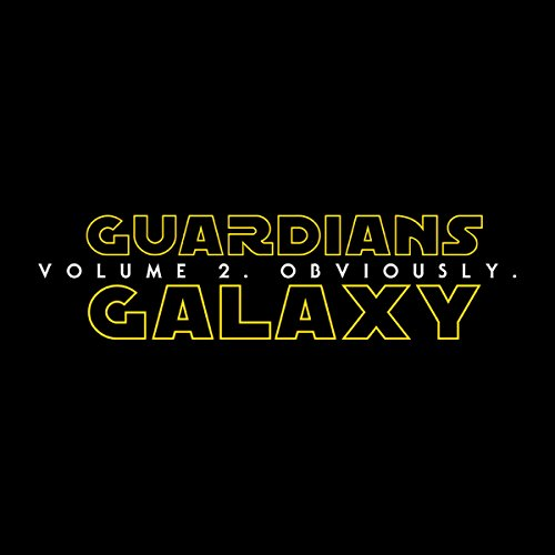 Guardians Of The Galaxy Volume 2 Star Wars Men's Vest Black