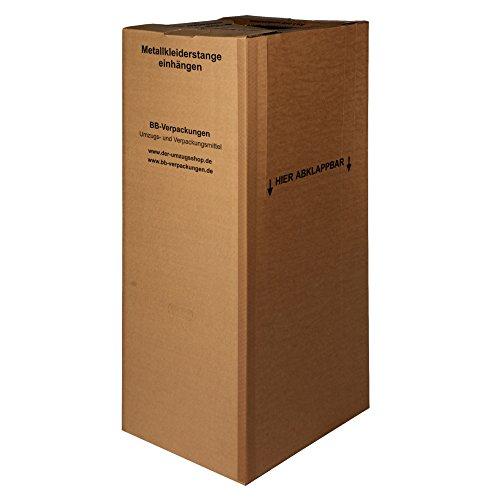3 x Kleiderbox mit Stange - 2