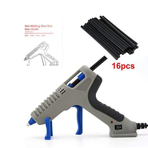 gfjfghfjfh Heißklebepistole mit Klebestift für DIY Handarbeit Spielzeug Reparatur Werkzeuge Elektrische Wärme Temperatur Klebepistolen -