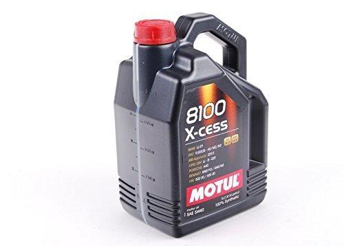 Motul 102870 8100 X-cess Motoröl, 5 W-40, 5 L