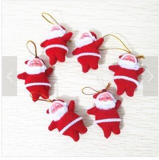 Muñeco de Santa Claus decorativo de Domire, para árbol de Navidad