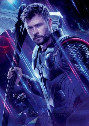 The Avengers : Endgame - Thor - U.S Textless Movie Wall Poster Print - 43cm x 61cm / 17 Inches x 24 Inches A2