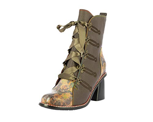Laura Vita SL68259-1A Evcao 01 Damen Schuhe Stiefeletten Ankle Boots, Schuhgröße:39 EU, Farbe:Braun
