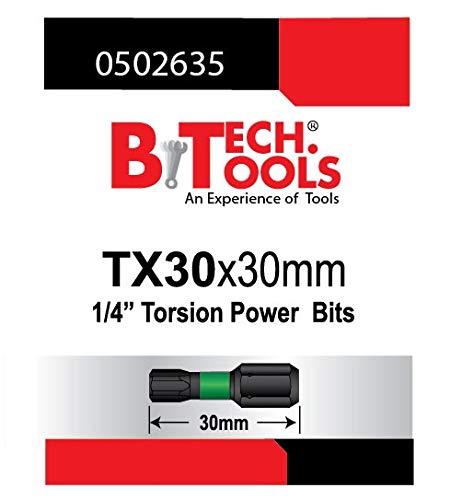B.TECH TOOLS B. Tech 0502635 ACR Torx TX30 Torsions-Bit, 30 mm